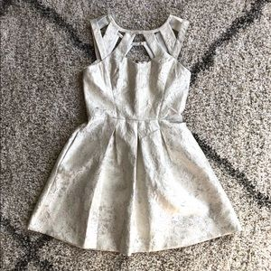 Betsey Johnson Metallic Dress